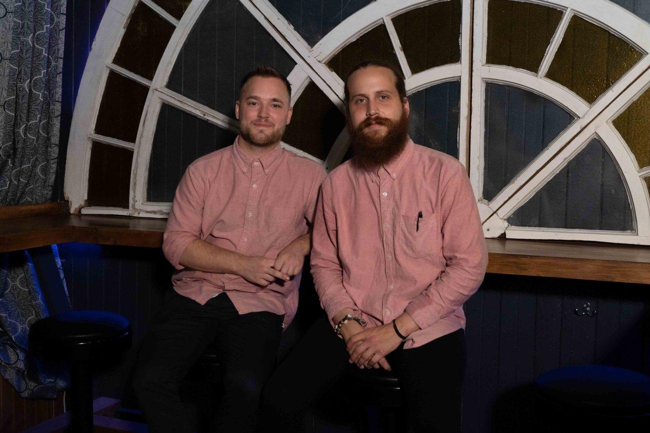 Portrait des copropriétaires du restaurant Le Norest Rémi Lemieux et Justin petitclerc