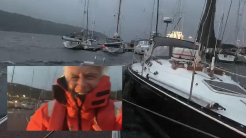 Passez une nuit de tempête en voilier avec Marcel Bouchard
