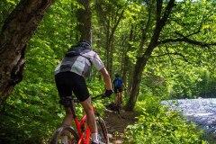 Le meilleur sentier de vélo de montagne pour les amateurs de sensations fortes