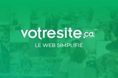 Faites votre site Web ou boutique en ligne avec votresite.ca!