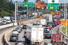 Travaux au tunnel La Fontaine: 30% des voitures pourraient se retrouver sur Jacques-Cartier