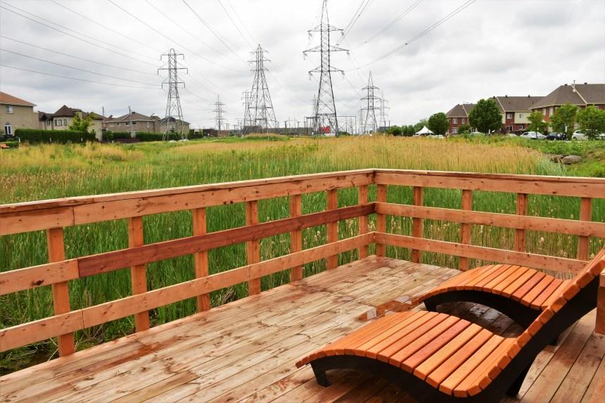 Le nouveau parc-nature de Saint-Léonard complété