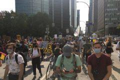 Manifestation pour le climat: quelques milliers de personnes se mobilisent à Montréal