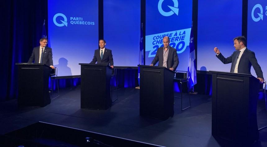 Débat à la chefferie du PQ: déjà des plans pour les élections de 2022