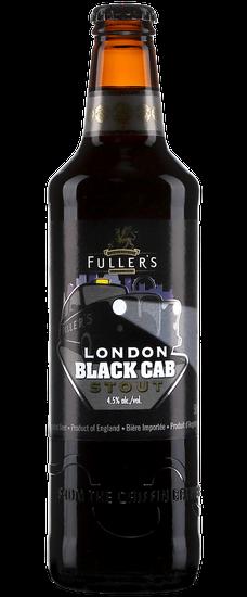Bouteille de bière anglaise Black Cab