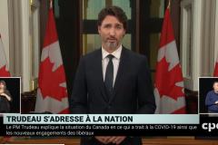 Deuxième vague: «Encore une chance de se réunir à Noël», dit Trudeau