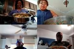 Popoter sur Zoom: un baume pour des aînées confinées