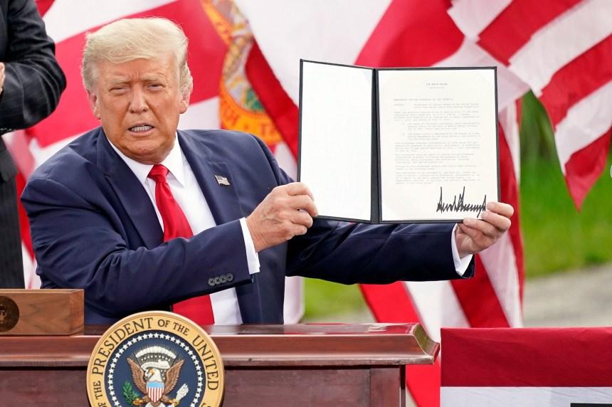 VÉRIFIÉ: le vrai et le moins vrai des affirmations de Trump mardi