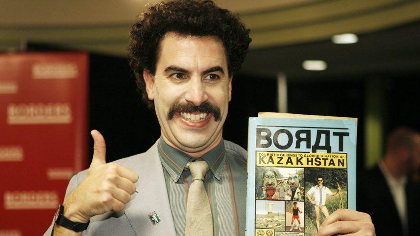 Le Kazakhstan finit par adopter Borat et son «Very Nice !»