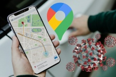 Google Maps affichera les régions à risque de la Covid-19