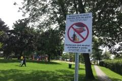 Contrôler l'achalandage des parcs à Dorval