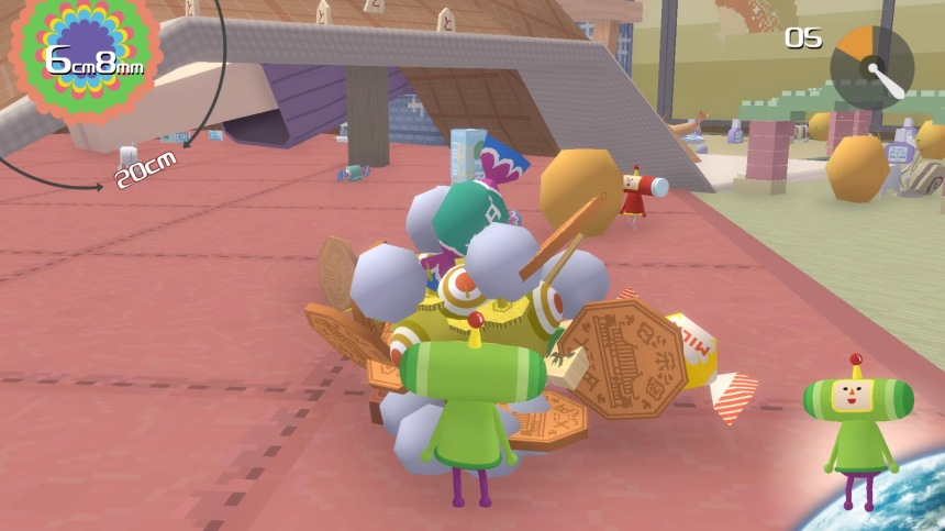 Katamari Damacy Reroll roulera sa bosse sur PlayStation 4 et Xbox One