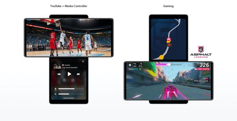 LG Wing double écran téléphone