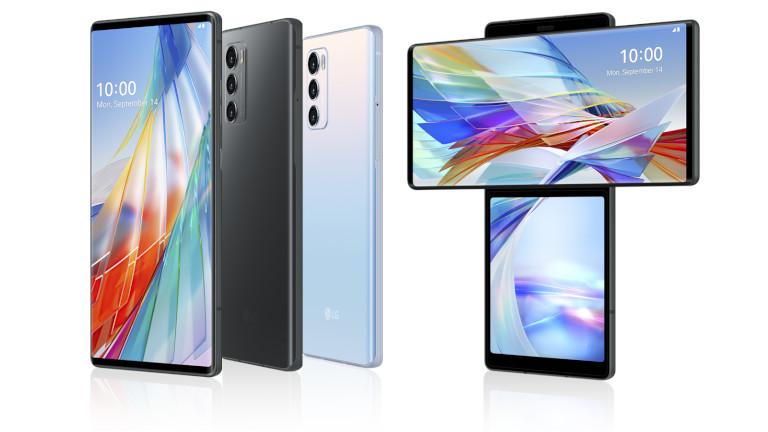 LG Wing téléphone écran pivote
