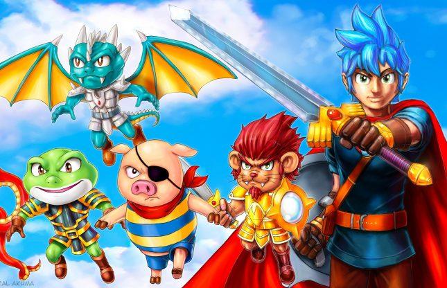 Monster Boy and the Cursed Kingdom aussi sur consoles de prochaine génération