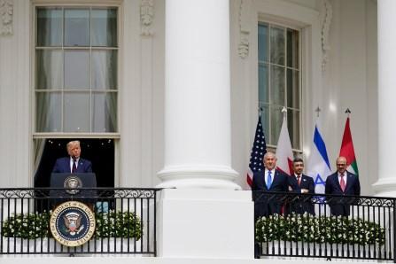 Trump espère attirer l'électorat juif avec l'accord Israël-États du Golfe