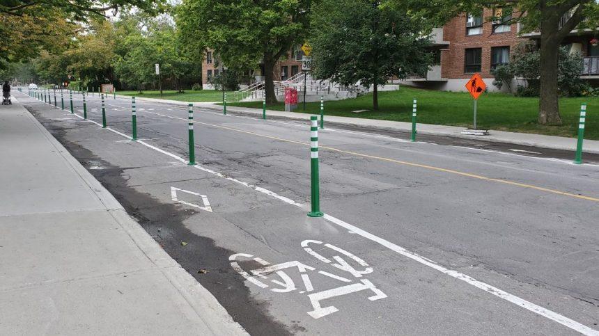 La saga de la piste cyclable sur la rue Terrebonne se poursuit