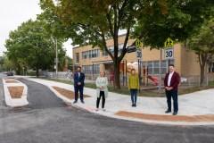 Des aménagements pour améliorer la sécurité aux abords des écoles