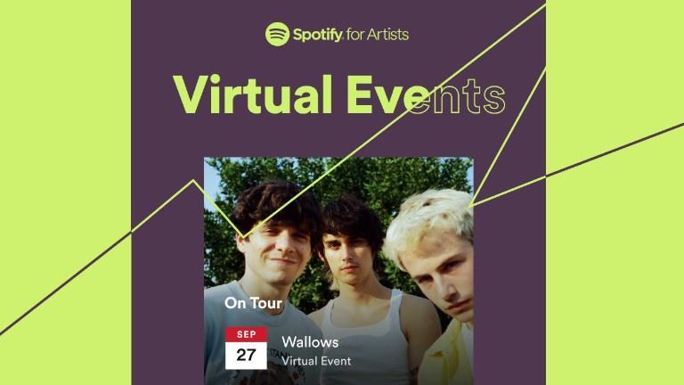 Voyez des concerts virtuels de vos artistes favoris à l'aide de Spotify