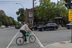 La piste cyclable sur Saint-Zotique reportée au printemps 2021