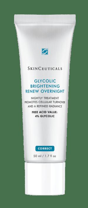 Soin de nuit exfoliant à l'acide glycolique de SkinCeuticals