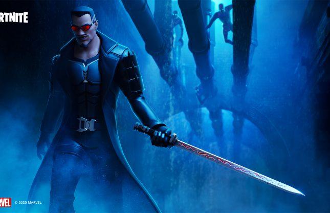 Blade s'invite dans Fortnite