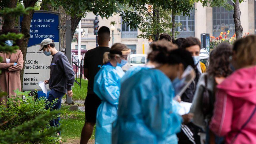 Fuite de données de dépistage pour 37 000 Montréalais