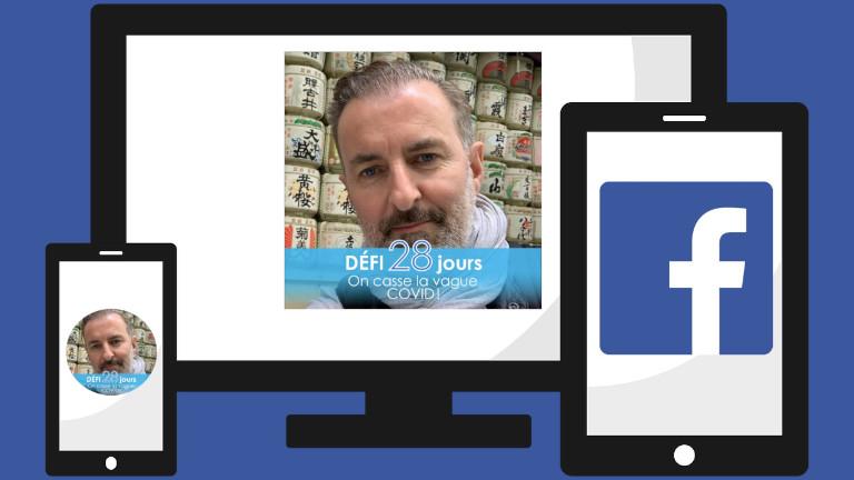 Ajouter décor filtre photo profil Facebook