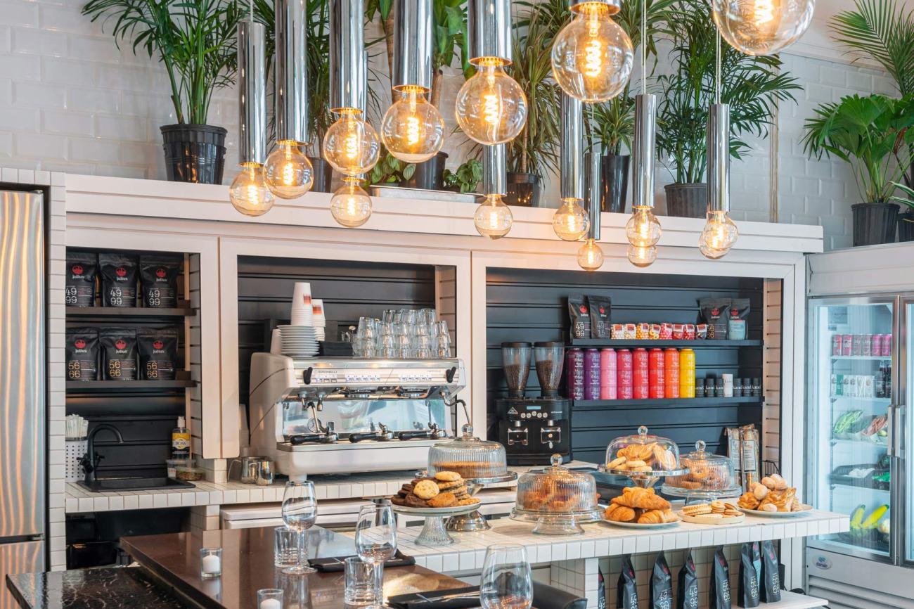 comptoir à café Gabrielle