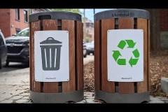 Cette vidéo de collecte des déchets à Montréal devient tristement virale