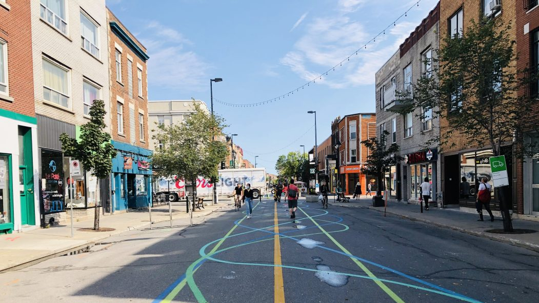 La rue Ontario, mardi 8 septembre