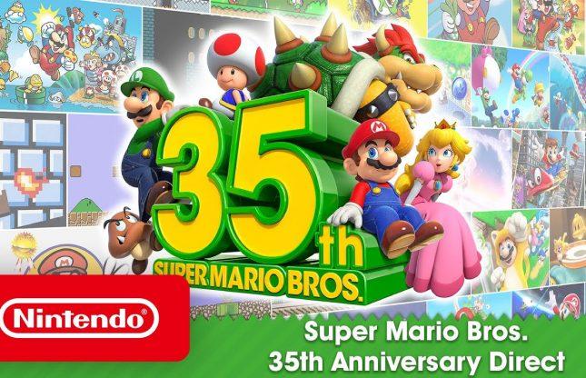 Nintendo Direct: Le plein d'annonces les 35 ans de Super Mario Bros.