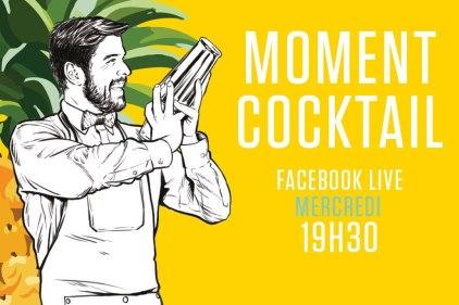 Amateur de cocktails, voici votre rendez-vous hebdomadaire en Facebook Live
