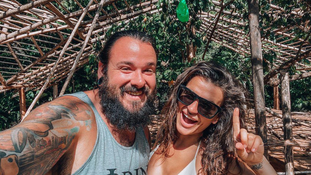 Le couple Nick Leger et Alie Bragz en République dominicaine