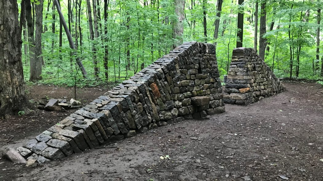 mur bois Angell