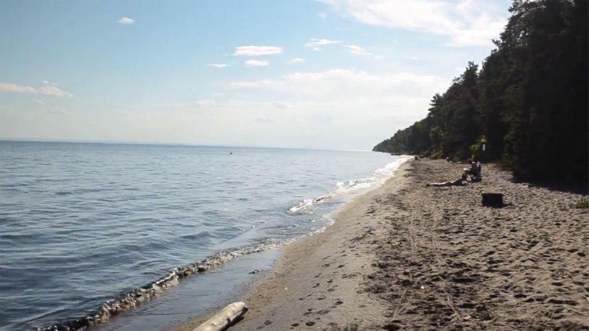 1001 activités à la plage Pointe‑Taillon en bordure du Lac-St-Jean