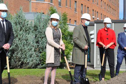 Plus de soutien à domicile durant les travaux à l'Hôpital de Verdun