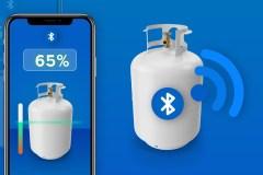 Restez informés du niveau de propane de votre bonbonne via Bluetooth
