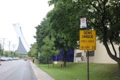 Stationnement sur ruedans MHM: 4 km en moins