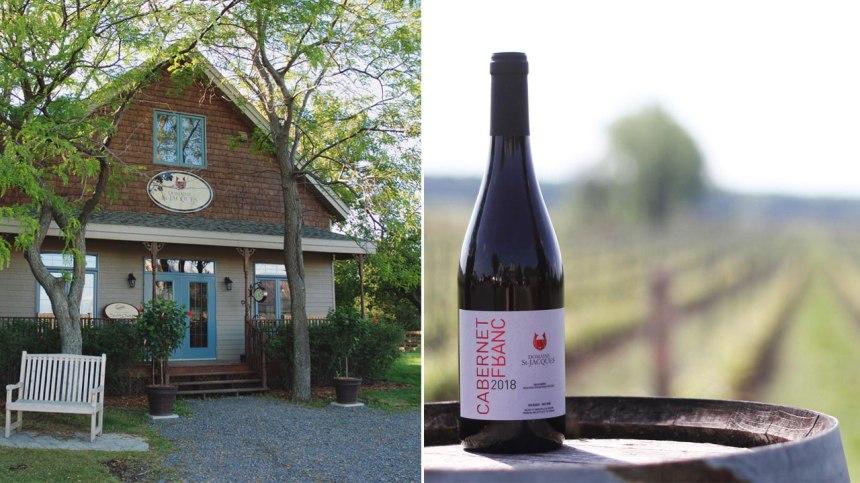 Découvrez les vins du Domaine St-Jacques, le vignoble des parents de Jay Du Temple