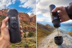 Dégustez un bon espresso frais, même en pleine forêt
