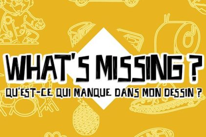 Jeu du Lundi : What's Missing?