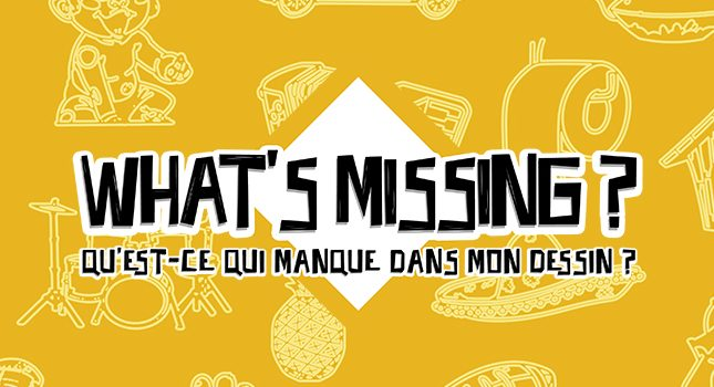 Jeu du Lundi : What's Missing?