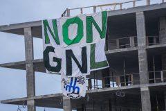 GNL Québec: Greenpeace envoie un message au gouvernement fédéral