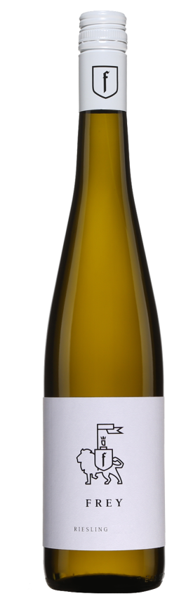 Bouteille de Riesling allemand