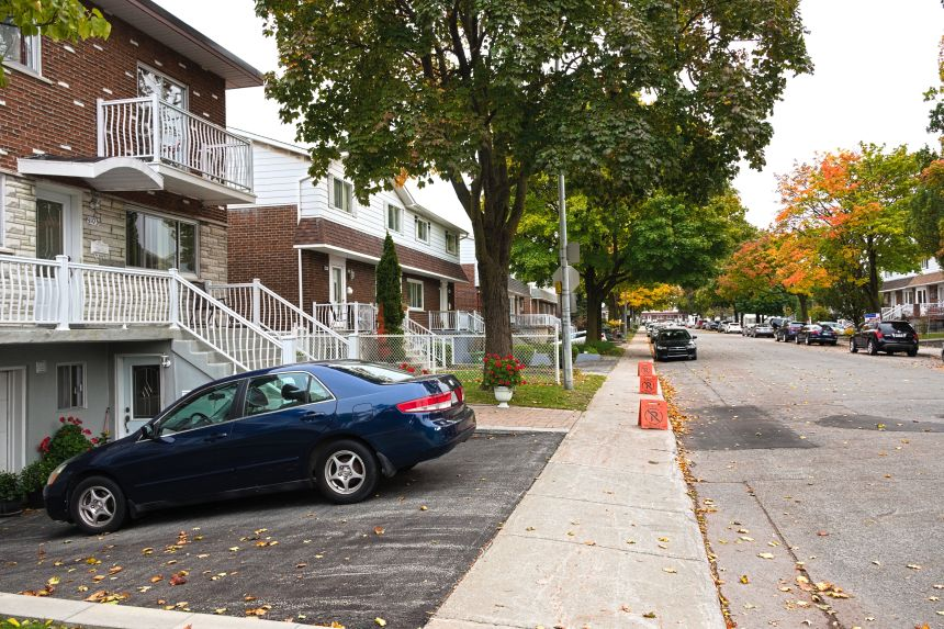 Saint-Léonard veut interdire les garages au sous-sol