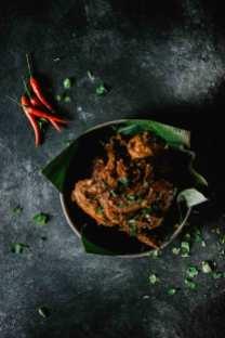 Plat de cuisine thaïlandaise