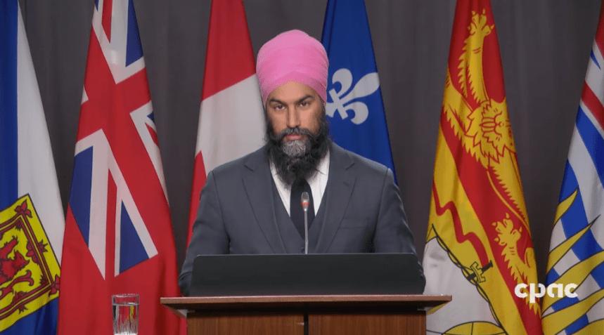 Le NPD ne veut pas «donner une excuse au premier ministre de déclencher une élection»