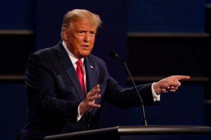 Donald Trump sème le doute sur l'élection, mais une nouvelle agence le contredit