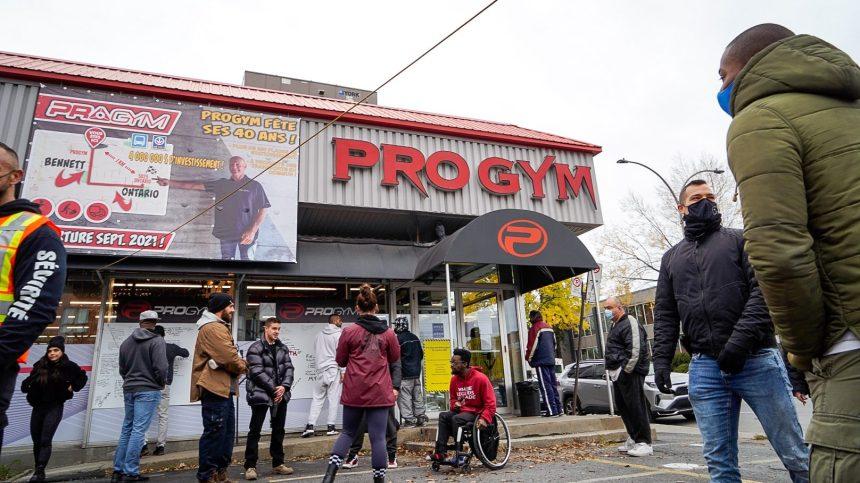 Fermeture des gyms: plusieurs manifestants expriment leur déception